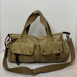 Fossil Leather Morgan Satchel with Strap